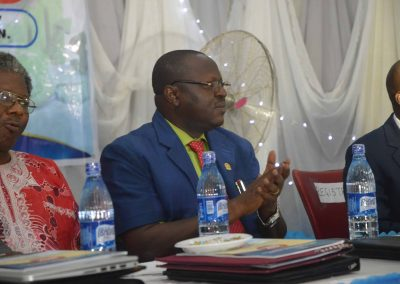 Rector - The Polytechnic Ibadan Prof O.O Fawole at the Opening Ceremony