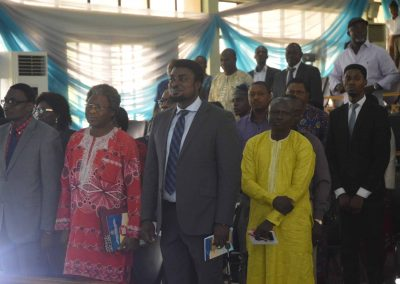Rendition of the Nigerian National Anthem at the opening ceremony (3)